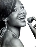 Rihanna by TheCharlieBrowniest