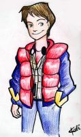 I drew Marty.. by reubelyn