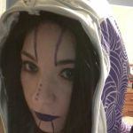 Dalish Tali makeup 1 by TaliBelle-Cosplay