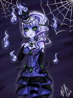 Chandelure by ToxicBlack