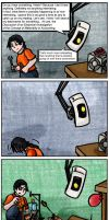 Portal comic 3 by Lieju