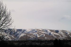 partly cloudy foothills by ShawnHenry