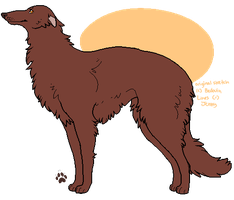 FREE to use Borzoi lines by Kiboku