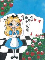 Alice in wonderland by palmcastle