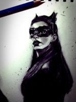 Anne Hathaway (Catwoman) by TakuaNui