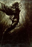 Angel Trapped in Hell by JUA