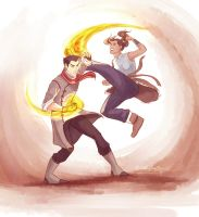I'd bet on Korra. by viria13