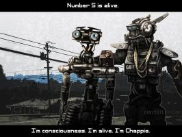 Chappie and Number 5 are Alive by EmilyStepp