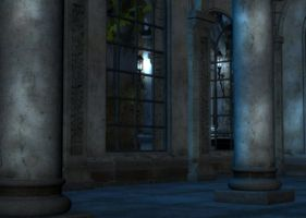 Mystic Terrace Background by Lil-Mz