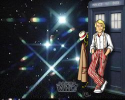 5th Doctor Wallpaper by Gorpo