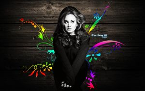 Wallpaper Adele by AnnieSerrano