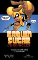 Brown Sugar Chronicles title by johnnybuddahfist