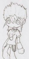 IX's original clothes sketch by IX-Demyx-IX