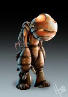 Marvin, the parnoid android by the-primitive-muse