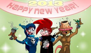 Happy New Year by skull-boy666