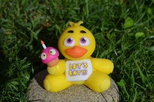 Chica Plush Version (Check the video tutorial!) by CraftDragons