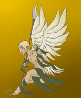 Sven: Angel of the Spear by Megane--Sama