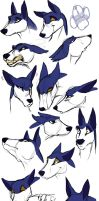 Sazul expressions by Aspendragon