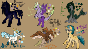 MLP Character Galore by AmethystClaw