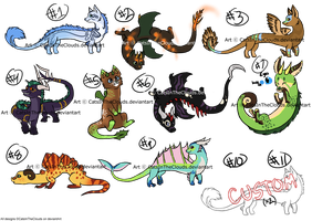 Munchkin Dragon Adopts! -CLOSED by CatsInTheClouds