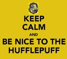 Keep Calm: Hufflepuff by Stop-My-Fall