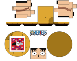 Luffy Hat, Alt Face And Long Arms by Guitar6God
