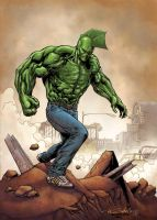 The Savage Dragon by MarkHRoberts