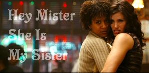 Hey mister, she is my sister by Belthazor1