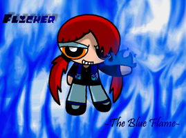 Flicker's Blue Fire by Brashgirl901