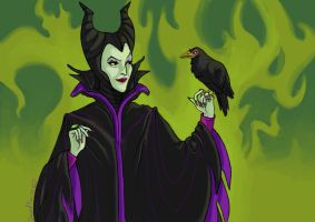 Maleficent 2 by DarkTime005