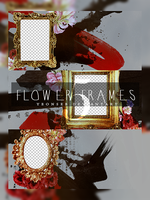 5-flowerframes textures. by Yeonseb