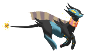 Janice the Luxray by jaclynonacloud