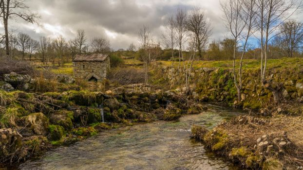 The old water mill 4k by biffexploder
