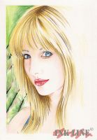 blond-smile by ink-line