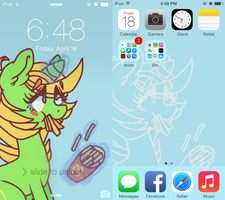 smallfry ipod wallpaper [ipod/iphone bg com's] by PONYPUKE