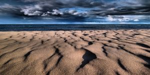 Sand, Wind and Water II by aquapell
