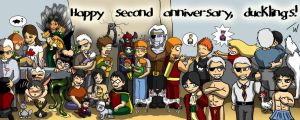 Happy 2 year anniversary by wynjas