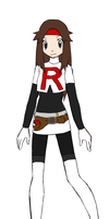 Sexy Team Rocket Girl by Dracogirl11
