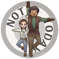 Arya and Syrio NOT TODAY pin by elliesky