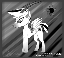 :OC:. Silver Star by Claireounette74