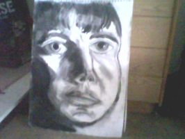 Charcoal Portrait 1 by Creativity-Squared