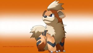 Growlithe by The13Daniih