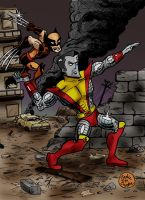 X-Men: Fastball Special by brodiehbrockie