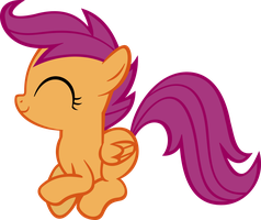 Bouncing Scootaloo by Zapapplejam
