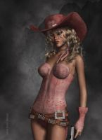 Lost Cowgirl by janedj