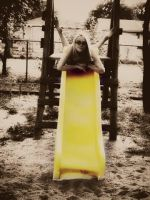 Only yellow slide by AnimoAnim3