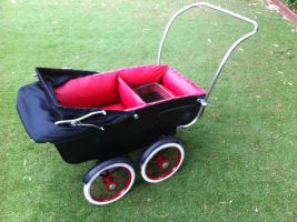 Goth Baby Carriage by BoaGrafix