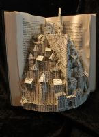 Minas Tirith Book Sculpture 2 by wetcanvas