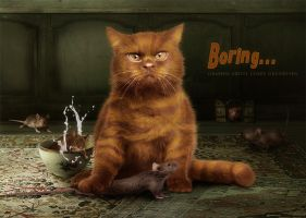 ThE Bad CaT by CindysArt