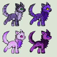 Cat Adotable Batch 5 - CLOSED by Cindy-Adoptables